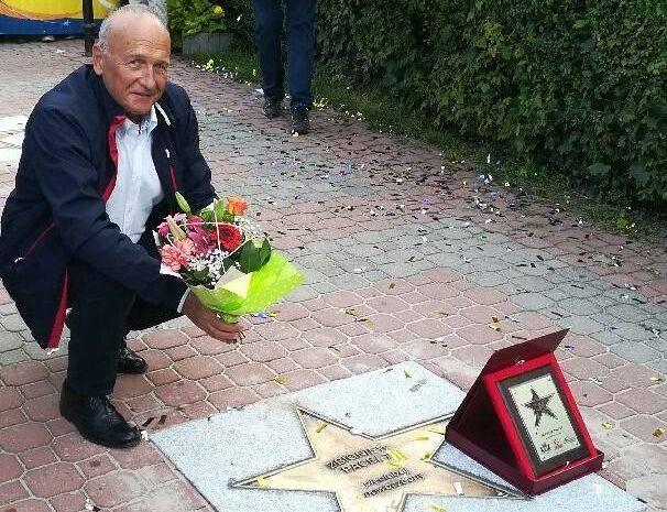 Pochodzący z Ostrowca Świętokrzyskiego Zbigniew Pacelt ma swoją gwiazdę w Alei Gwiazd Sportu w Cetniewie. W niedzielę, 7 lipca, odbyła się dwudziesta