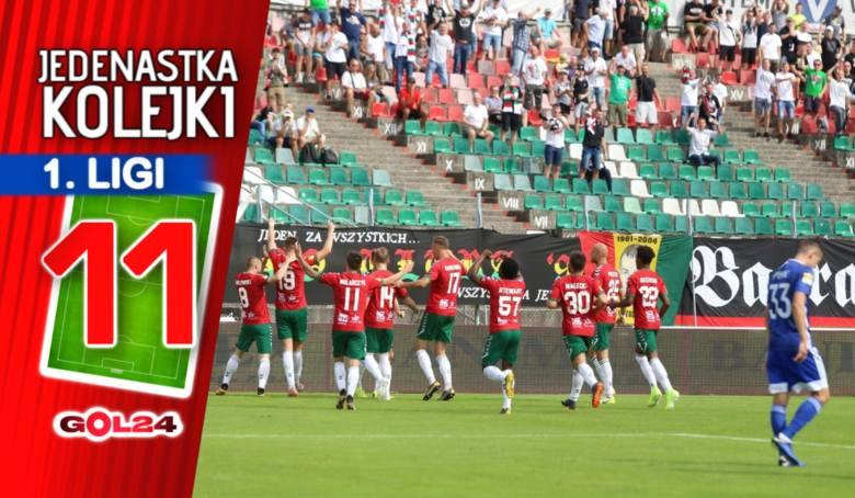 Porażka lidera. Jedenastka 4. kolejki Fortuna 1 Ligi GOL24.pl!