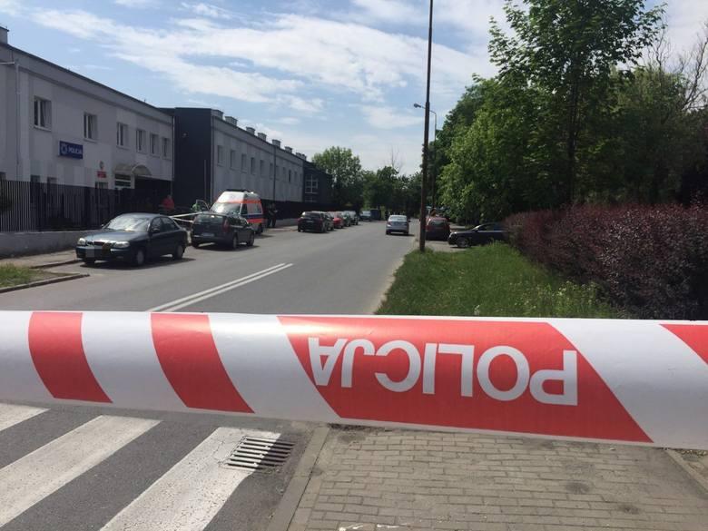 Strzelanina pod komisariatem w Opolu. Śledztwo przedłużone