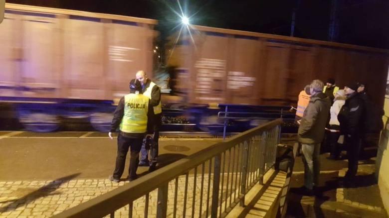 Tragedia na dworcu kolejowym. Nie żyje mężczyzna