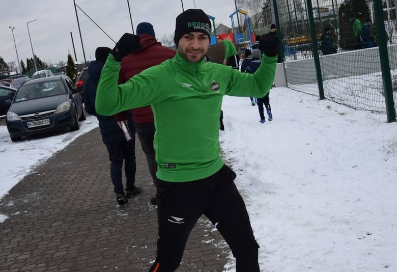 Ponad 30 zawodników zjawiło się na pierwszym treningu Radomiaka Radom po zimowej przerwie. Z nowych piłkarzy był Dominik Banach, pozyskany przez Radomiaka
