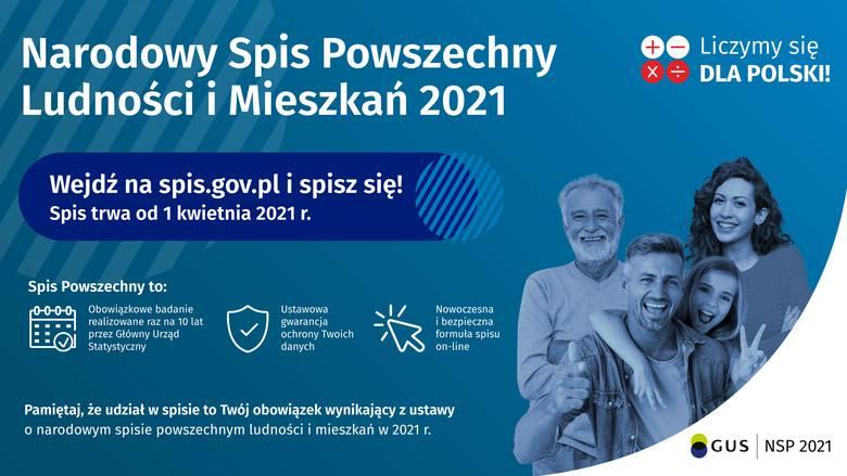 W kwietniu rusza Narodowy Spis Powszechny Ludności i Mieszkań 2021
