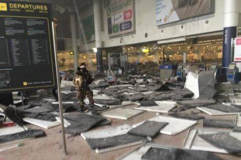 Zamach bombowy w Brukseli