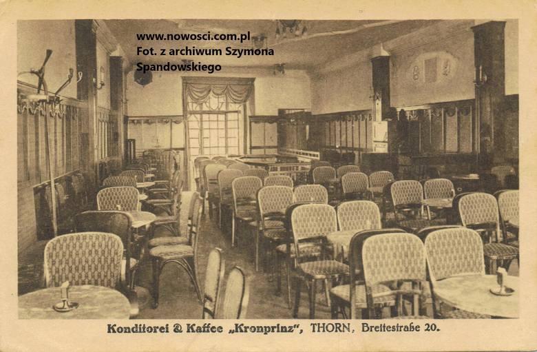 Pomorzanka znajdowała się przy Szerokiej 20, natomiast pod koniec zaborów mieściła się tu cukiernia i kawiarnia Kronprinz