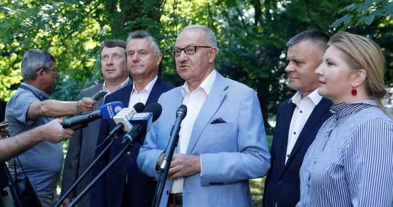 Konferencja PSL w Rzeszowie. Przedstawiono pierwsze miejsca na listach w wyborach parlamentarnych 2019.