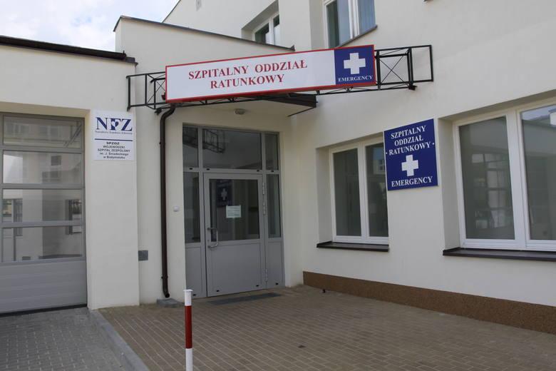 Szpitalny Oddział Ratunkowy w Wojewódzkim Szpitalu Zespolonym w Białymstoku