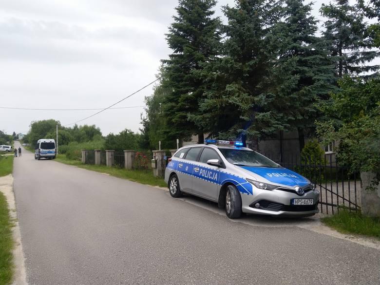Tragedia w gminie Morawica. Zastrzelono sołtysa! Trwa policyjna obława. Szukają podejrzewanego [WIDEO, ZDJĘCIA]