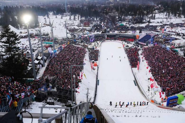 Skoki w Zakopanem 2020. Tak bawili się kibice podczas niedzielnego konkursu indywidualnego [ZDJĘCIA]