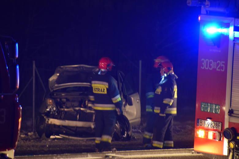 Wypadek na S8 na odcinku Choroszcz - Porosły. Droga w kierunku Białystok całkowicie zablokowana. Jedna osoba ranna
