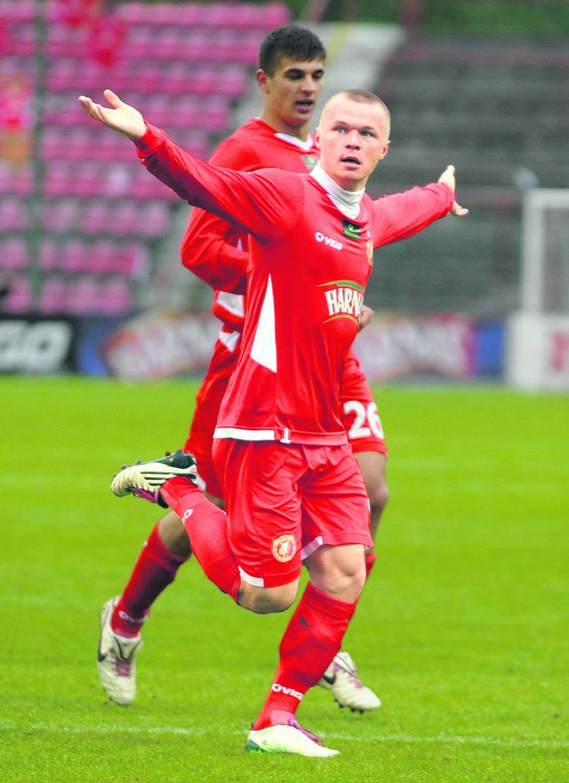 Przez dwa i pół roku gry w Widzewie Darvydas Sernas strzelił 23 gole.