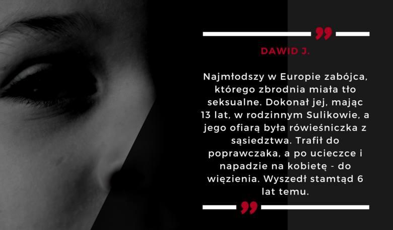 To najmłodszy w Europie zabójca, który dokonał swojego czynu na tle seksualnym. Miał zaledwie 13 lat, kiedy dokonał zbrodni w rodzinnej miejscowości,
