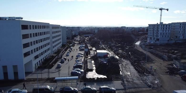 Nowa linia tramwajowa powstaje na trasie między Krowodrzą Górką a Górką Narodową