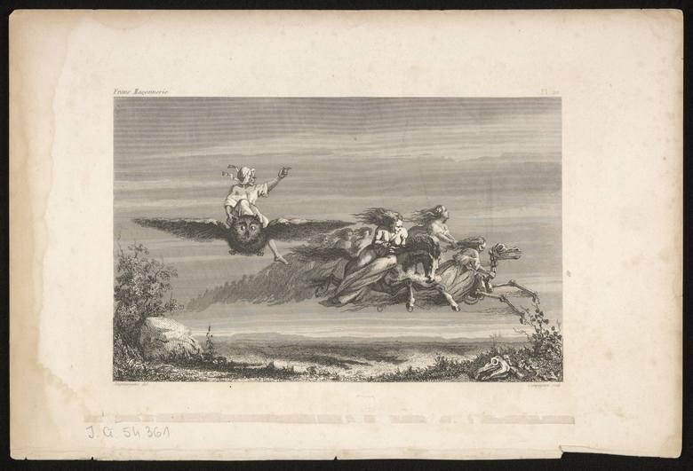 Czarownice na grafice francuskiej z początków XIX stulecia