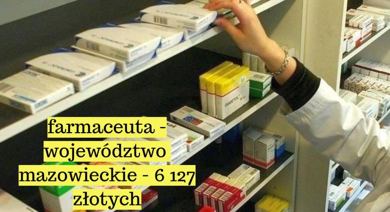 Tyle zarabiają farmaceuci i fizjoterapeuci w Polsce. Stawki mogą niektórych zaskoczyć!