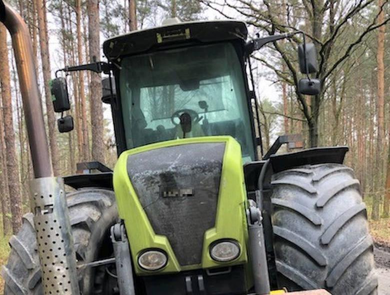 Odzyskany ciągnik rolniczy jest wart około 300 tys. zł.