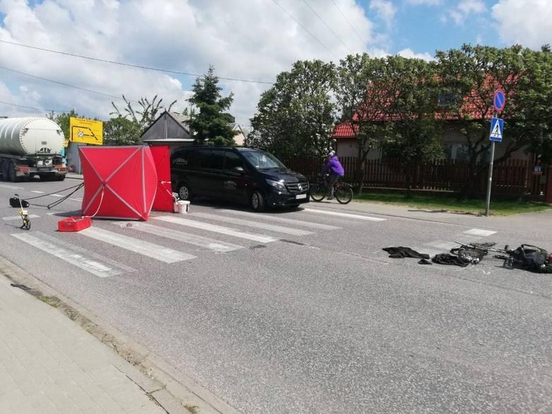 Do tragicznego w skutkach wypadku doszło we wtorek na kilkanaście minut przed godziną 11.