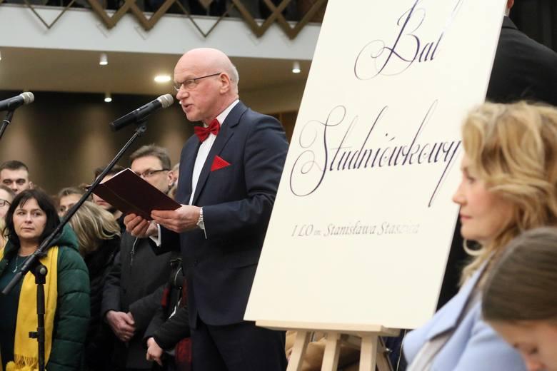 Bal Studniówkowy I LO im. Stanisława Staszica (ZDJĘCIA, WIDEO)
