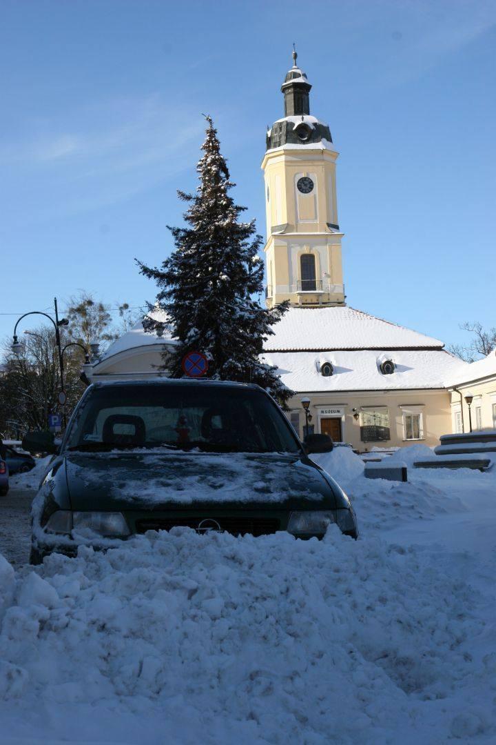 Zima w Białymstoku w 2007 roku