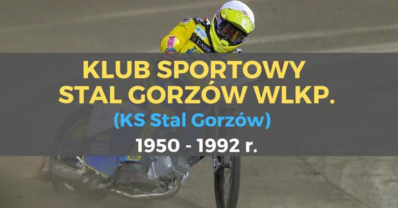 To nie zawsze była Stal Gorzów. Przez lata ta drużyna nazywała się różnie. Jak zatem zmieniały się jej nazwy?