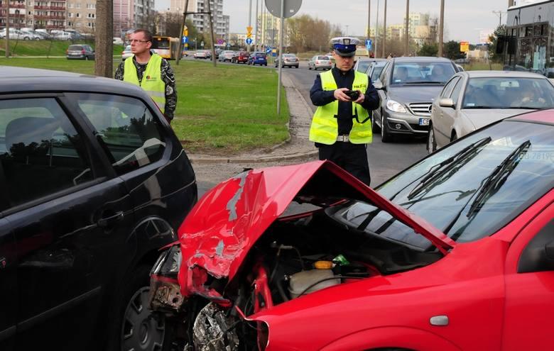 Wypadek przy ul. Akademickiej w Bydgoszczy