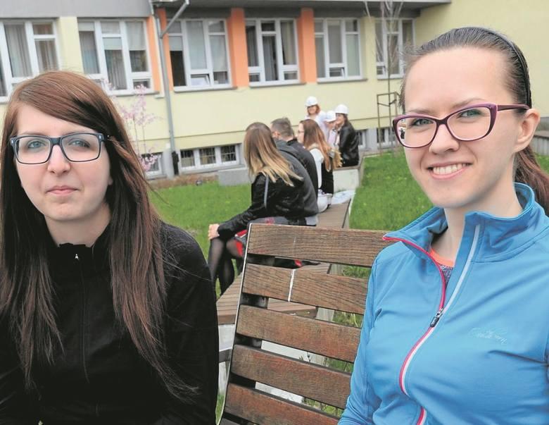 Paulina Bożek i Małgorzata Adamiec studiują na piątym roku architektury i zachęcają inne dziewczyny do wybrania politechniki.