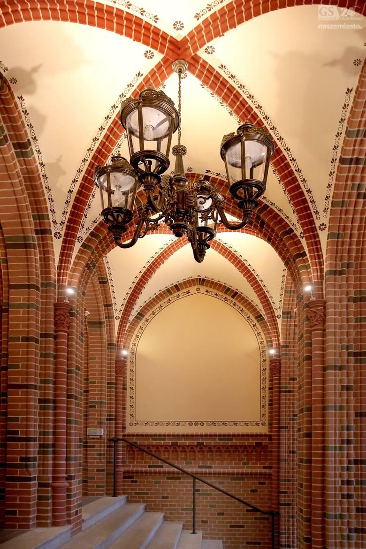 Czerwony Ratusz od 1963 roku jest siedzibą Urzędu Morskiego w Szczecinie. Budynek do 1945 roku pełnił funkcję magistratu. W XIX wieku był nazywany Nowy Ratuszem.