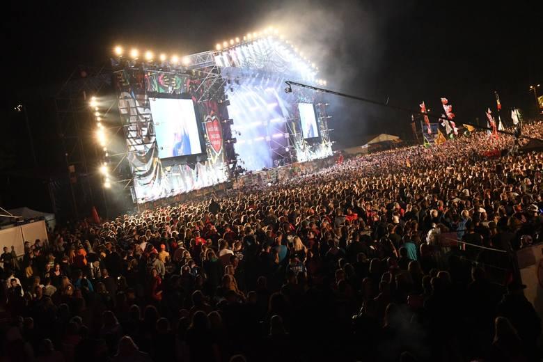 Przekleństwa padły ze sceny na zakończenie Pol'and'Rock Festiwalu 2019.