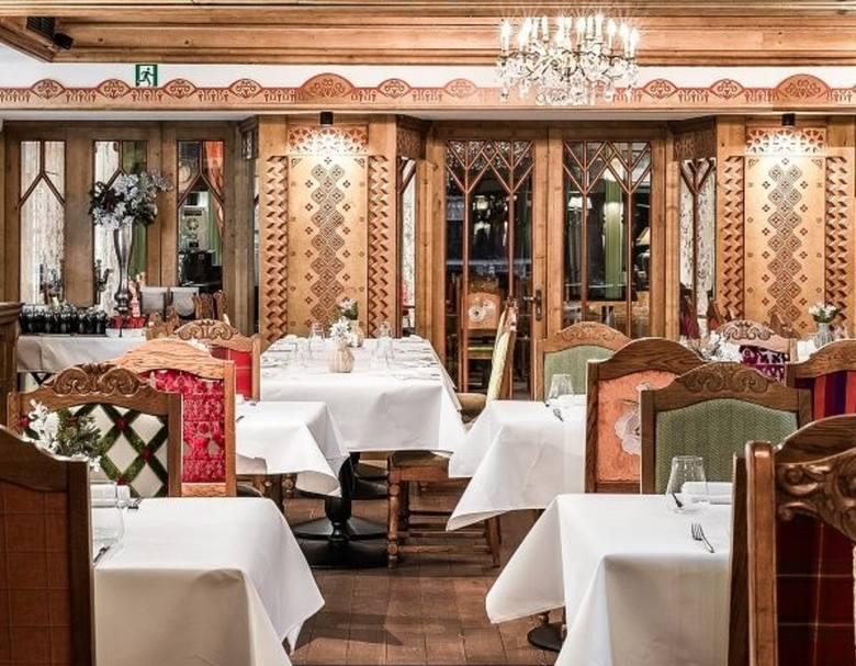 Restauracja Polka Magdy Gessler w Aries Hotel&Spa w Wiśle.