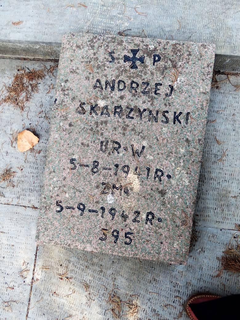 Andrzejek przeżył równo 13 miesięcy...