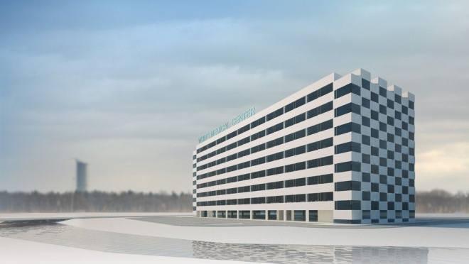 Wrocław: Po 7 latach zbudują biurowiec obok Hotelu Park Plaza (WIZUALIZACJE)