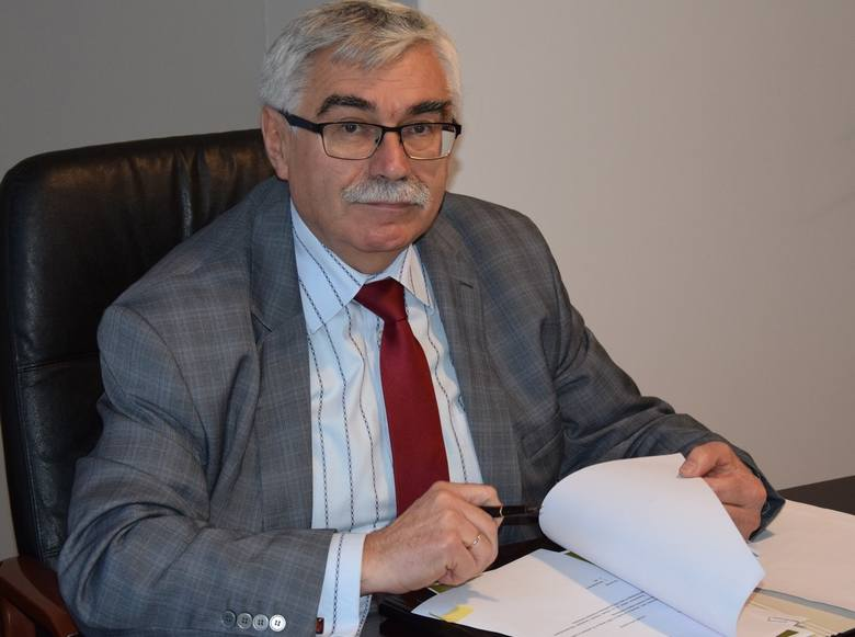 Burmistrz Łasku Gabriel Szkudlarek