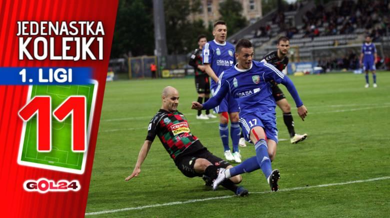 Liderująca Sandecja Nowy Sącz zakończyła serię zwycięstw z rzędu i poległa w Bielsku-Białej. W kuriozalnym stylu z walki o awans wypisał się GKS Katowice.