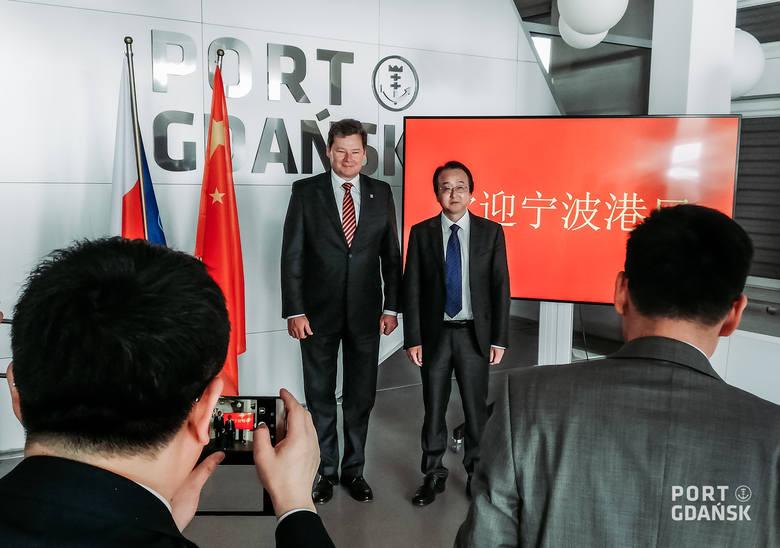 Port Gdańsk gościł delegatów Ningbo-Zhoushan, czwartego największego portu kontenerowego na świecie.