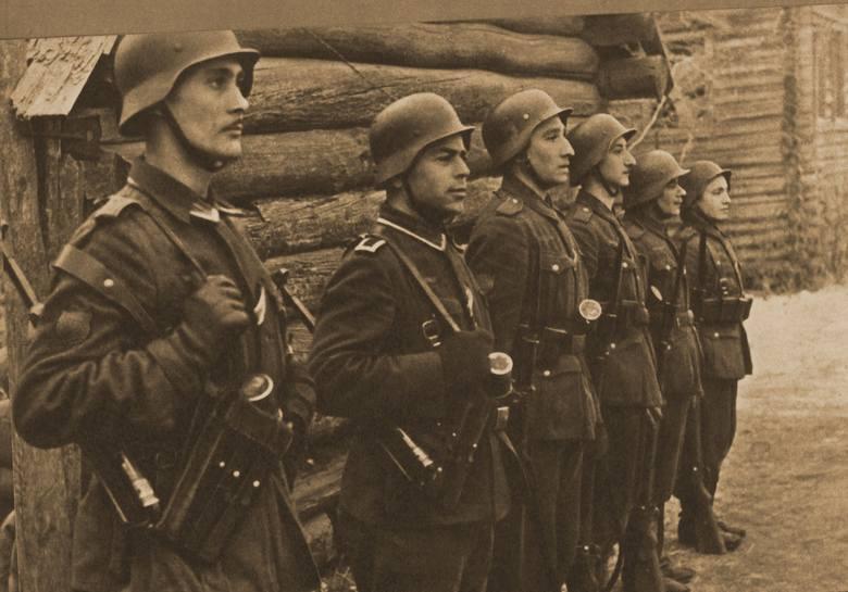 Żołnierze Błękitnej Dywizji w 1942 r.