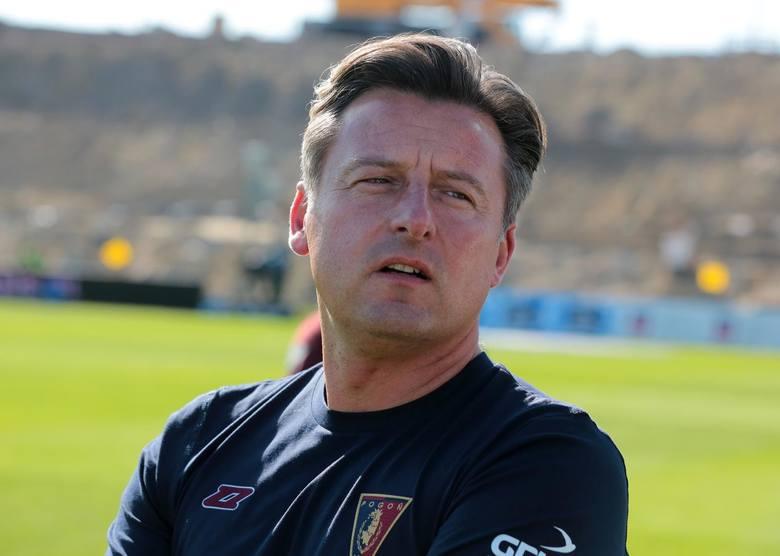 Kosta Runjaic - trener Pogoni Szczecin.
