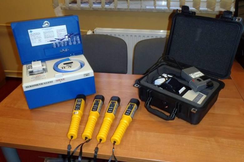 Nowy sprzęt do badania trzeźwości (zdjęcia)