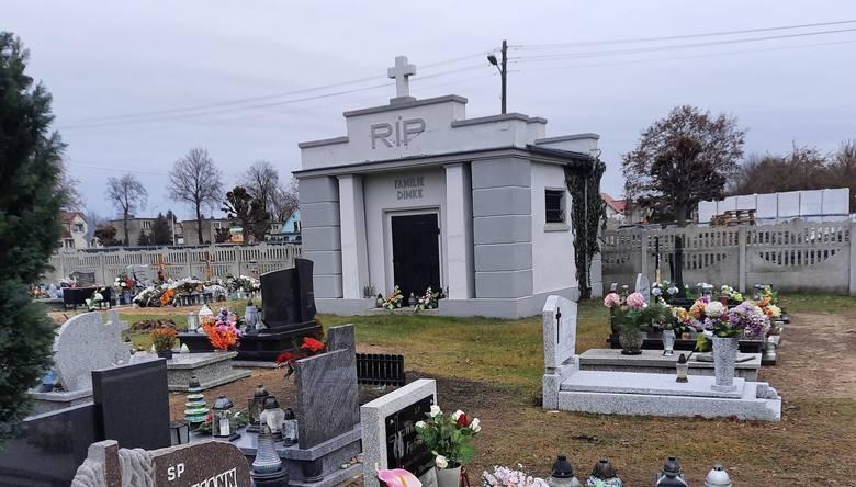 2020 rok. Cmentarz parafialny w Kargowej