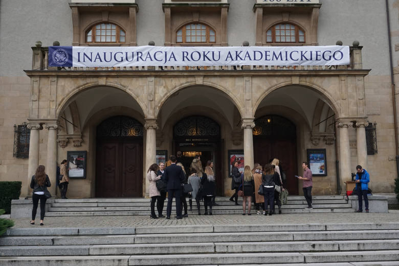 Uniwersytet Medyczny w Poznaniu - inauguracja roku akademickiego.