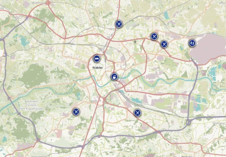 Oto restauracje, kawiarnie i noclegi w Krakowie, które są otwarte mimo lockdownu! [AKTUALNA MAPA] 11.02.2021