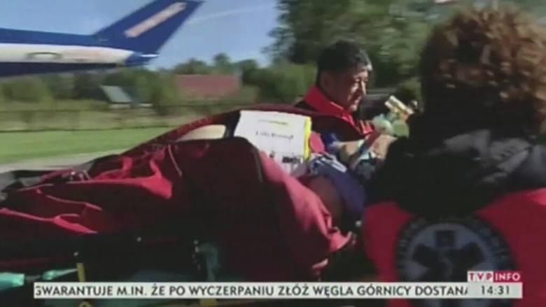Śmiertelny wypadek w Tatrach. Nie żyje francuski turysta [wideo]