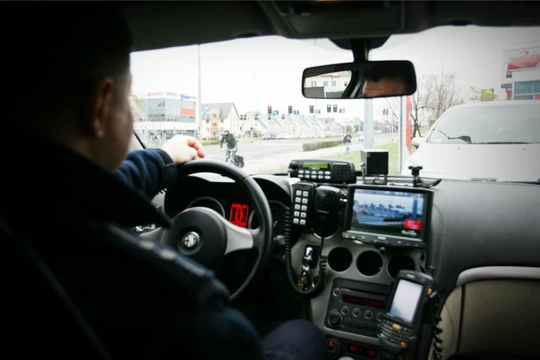 """Wrocław, policyjna akcja """"czerwone światło"""""""