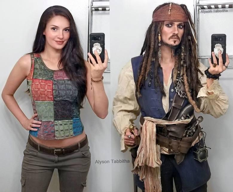 """Jack Sparrow z filmu """"Piraci z Karaibów"""""""
