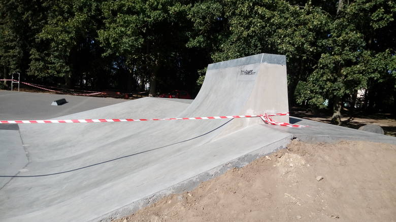 Skatepark już czeka na otwarcie