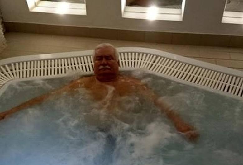 Lech Wałęsa wypoczywa na Dolnym Śląsku. Jest zachwycony okolicą [ZDJĘCIA]