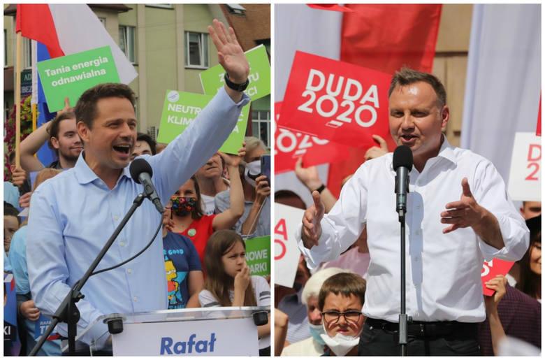 Zarówno Andrzej Duda, jak i Rafał Trzaskowski postawili na kampanię w polskich miastach powiatowych. To tam może się rozegrać decydująca walka o głosy