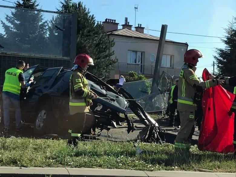 Śmiertelny wypadek na ul. Krakowskiej w Rzeszowie.