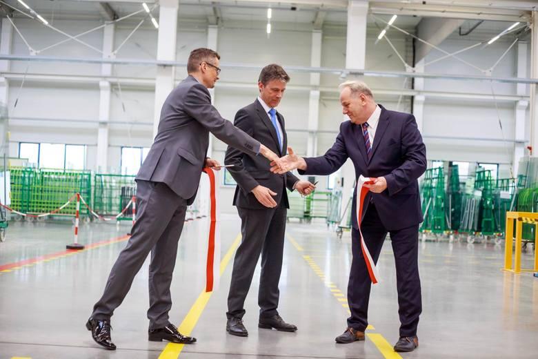 Nowy zakład Pilkington IGP w Białymstoku otwarty. Duża hala. Duże możliwości. Dwa razy więcej miejsc pracy.