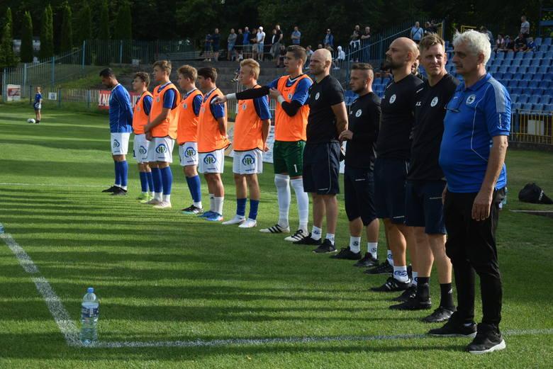 Piłkarze i kibice pożegnali Dawida Dłoniaka przed derbami Stilonu Gorzów z Wartą Gorzów