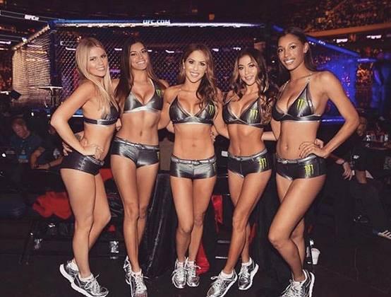 UFC Ring Girls. Poznaj piękności z oktagonu MMA największej federacji na świecie [ZDJĘCIA]