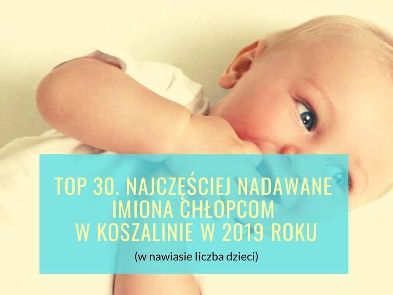 Filip, Aleksander, Jakub, a może Antoni? Które imiona w 2019 roku były najczęściej nadawane chłopcom w Koszalinie? Sprawdź listę! Dane pochodzą z Urzędu